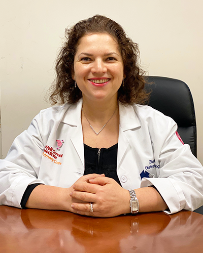 Zhanna Fridel, M.D., FACOG | Weill Cornell Obstetrics & Gynecology,​ New York, NY
